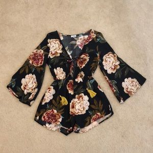 Tobi Long Sleeve Romper